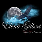 Elena Gilbert The Vampire Diaries Raven Moon Blue