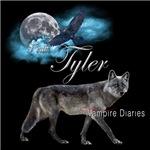 Team Tyler Wolf The Vampire Diaries Raven Moon Blu