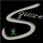 Square Dance Handwritten Gray