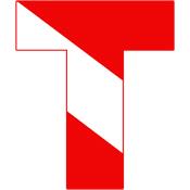 Scuba Flag Letter T