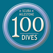 Scuba Milestone: 100 Dives