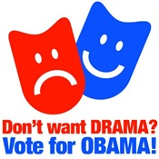 Vote Obama: No Drama!