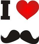 I Heart Mustache