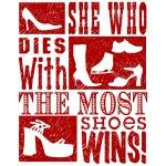 Most Shoes Wins!