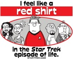 The Star Trek of Life from StarTrek.Com licensed clothing:  Does it feel sometimes like the universe is conspiring against you? Do you feel like you beamed down to the planet and things are not going too well? Express your feelings with this unique design