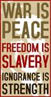 War is Peace | 1984 & Bush