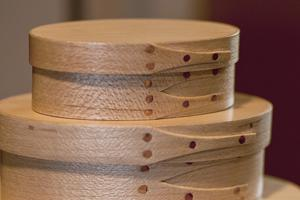 Wooden Oval Nesting Boxes