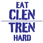 Eat Clen Tren Hard drk blue/ light blue