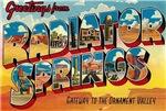 Vintage Big Letter Postcards