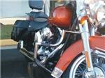 H3134 Motorcycle Watercolor