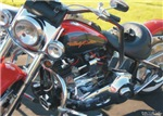 H3197 Motorcycle Watercolor