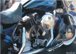 H3175 Motorcycle Watercolor