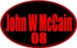 John W McCain 08
