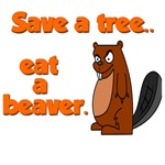 Funny Save A Tree