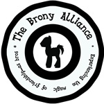 Brony Alliance in black