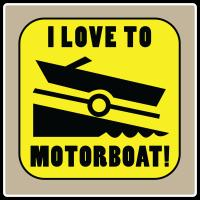 I Love To Motorboat!
