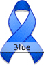 Blue Ribbon for Arthritis Awareness