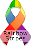 Rainbow Pride II Ribbon