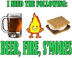 Beer Fire Smores