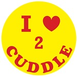 I love to cuddle