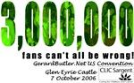 3,000,000 Fans