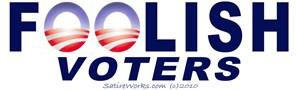 Foolish Voters