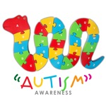 Autism Awareness - Snake Jigsaw