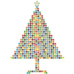 Christmas Tree Color Ornament