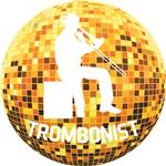 Disco Ball Trombonist