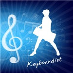 Treble Clef Keyboardist