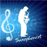 Treble Clef Saxophonist