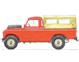Series IIA 109 Pick Up