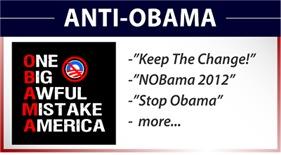 Anti-Obama Designs