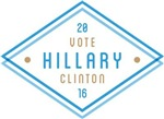 Geo Frame Vote Clinton 16