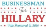 Businessman for Hillary
