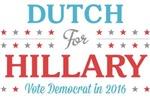 Dutch for Hillary