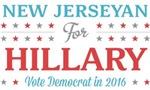 New Jerseyan for Hillary