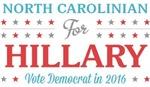 North Carolinian for Hillary