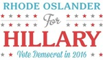 Rhode Oslander for Hillary