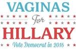 Vaginas for Hillary