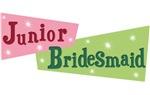 Trendy Retro Junior Bridesmaid