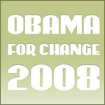 2008 Obama For Change T Shirts and Merchandise