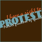 I Have a Right to Protest!