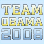 Blue and Yellow Team Obama