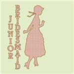 Victorian Silhouette Junior Bridesmaid Gifts