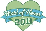 Heart Banner 2011 Maid of Honor