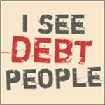 I See Debt People Tee Shirts
