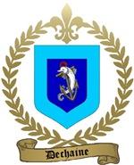 DECHAINE Family Crest