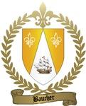 BAUCHER Family Crest