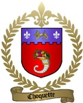 CHOQUETTE Family Crest